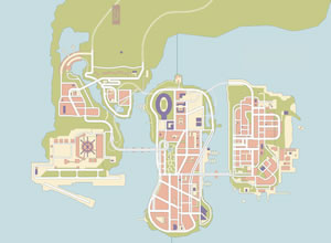 Mapa GTA 3 Completo