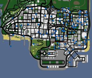 Mapa Pixações