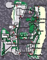 Mapa imóveis à venda, para comprar - GTA Vice City