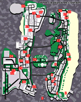 Mapa rampages - GTA Vice City