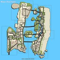 Mapa pulos únicos - GTA Vice City