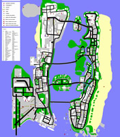 Mapa super GTA Vice City